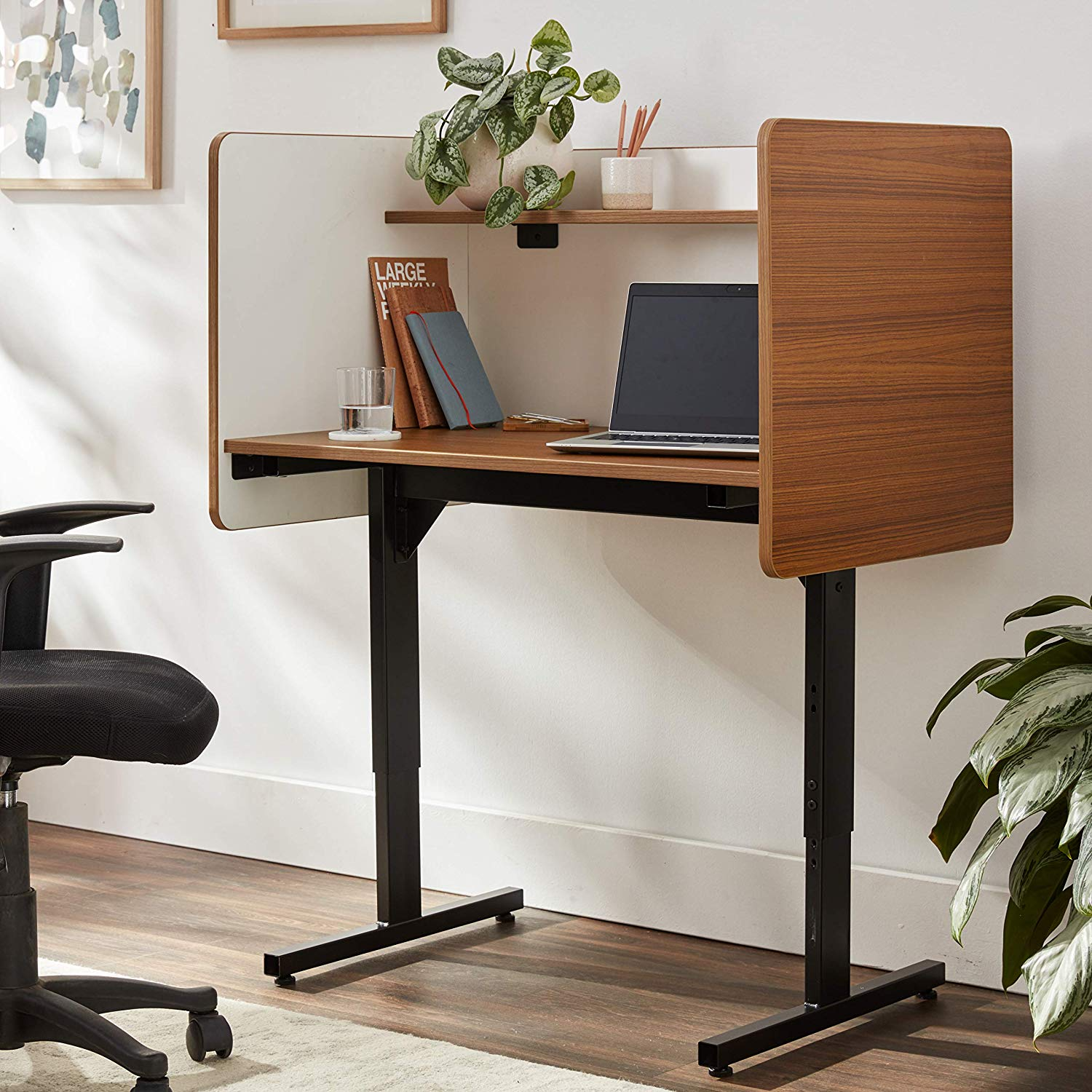 Balt 89788 Adjustable Study Carrel Workstation