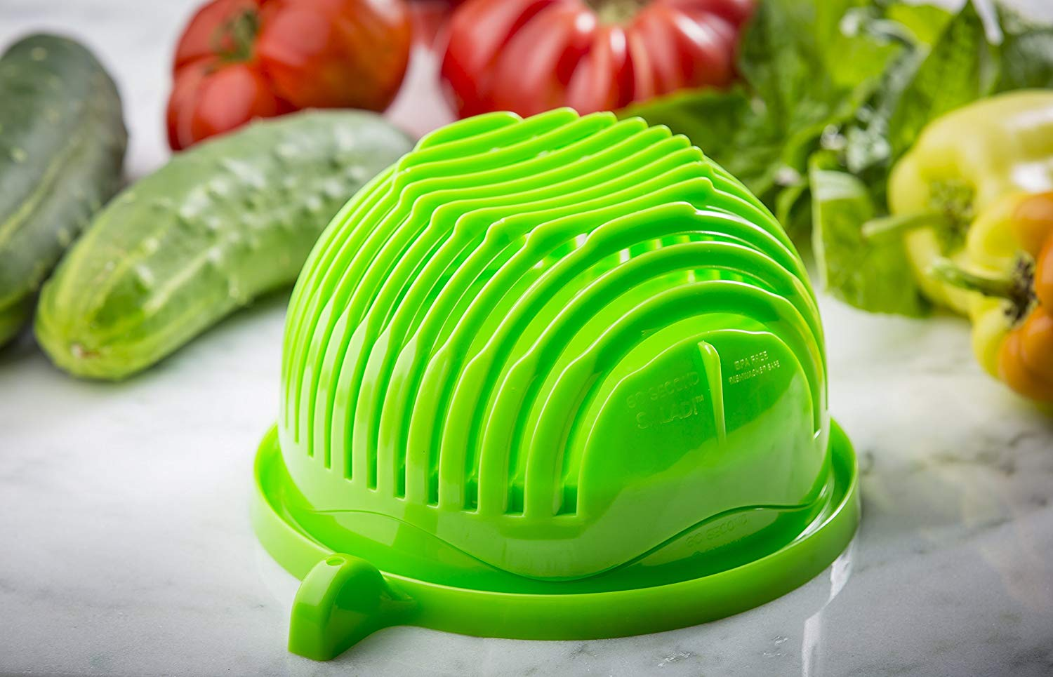 The ORIGINAL 60 Second Salad Maker