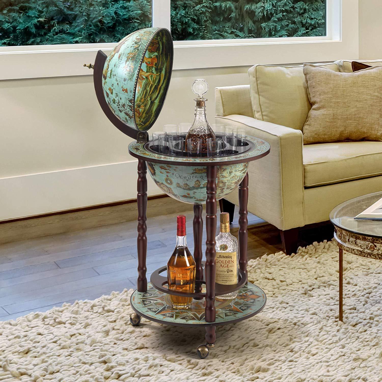 Design Toscano Sixteenth Century Replica Globe Bar Cabinet