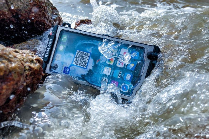 DIVEVOLK Underwater Real Touchscreen Button Free