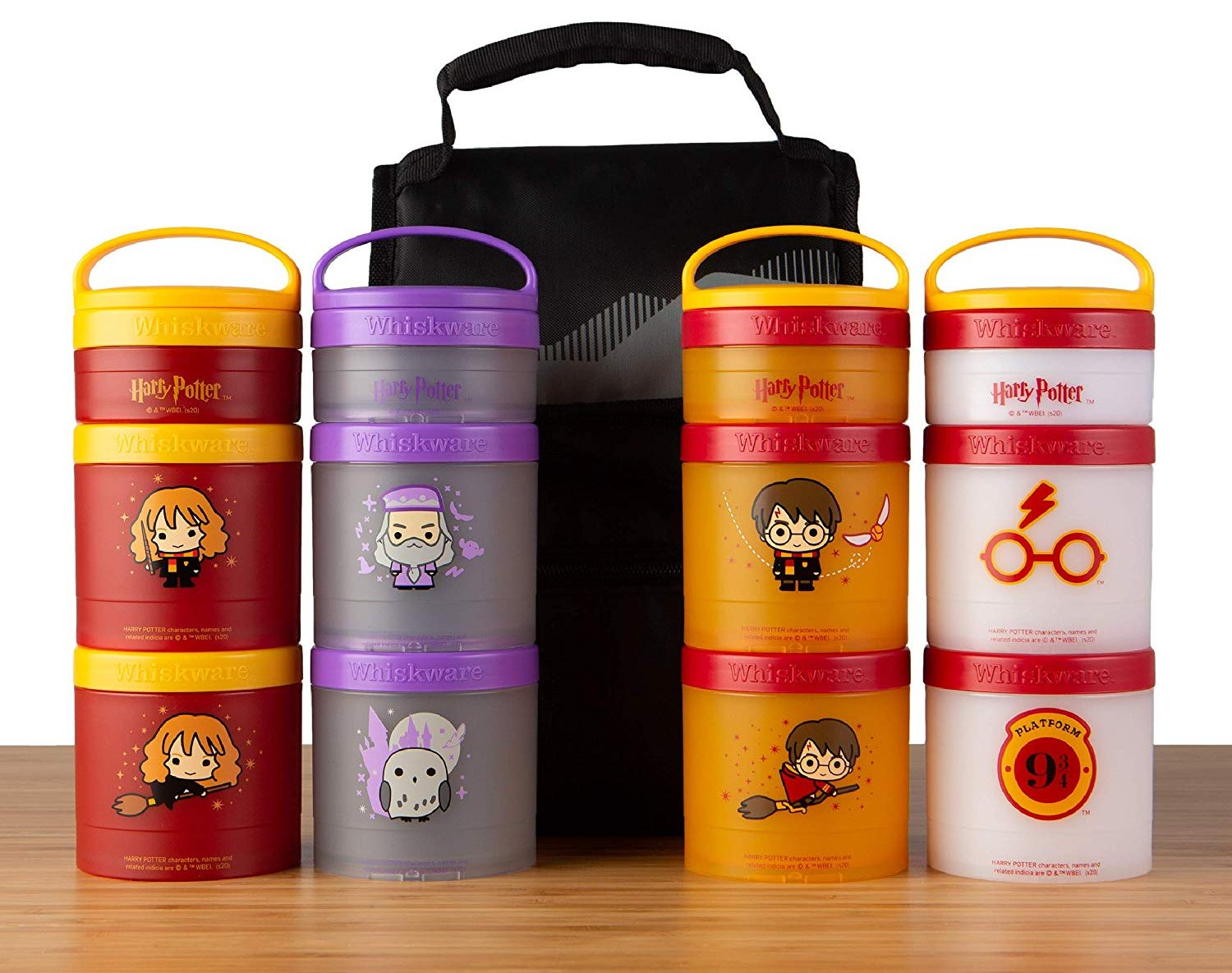 Whiskware C03681 Harry Potter Stackable Snack Pack