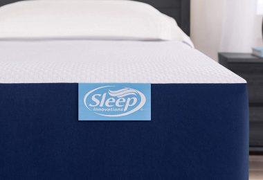 Sleep Innovations Marley 10-inch Cooling Gel Memory Foam Mattress Bed in a Box,
