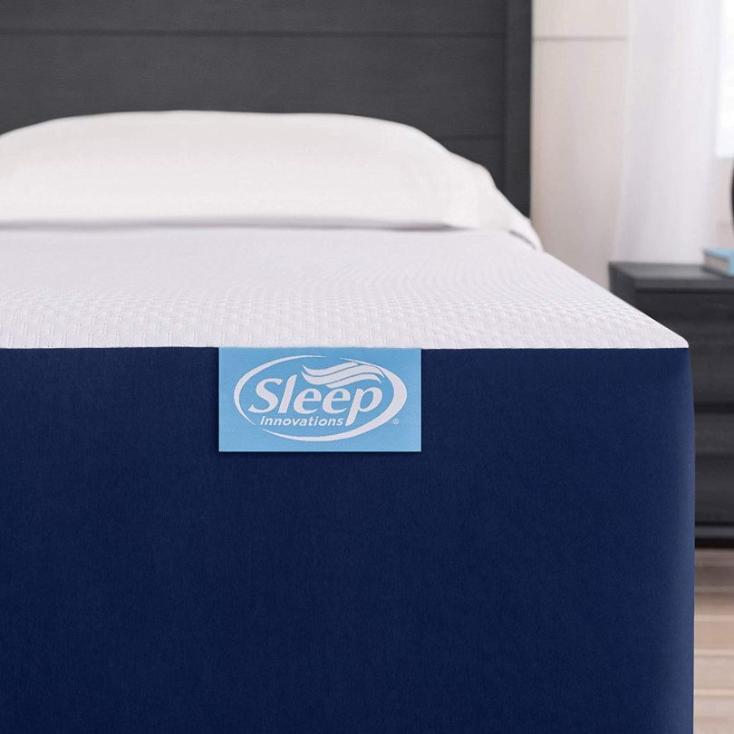 Sleep Innovations Marley 10-inch Cooling Gel Memory Foam Mattress Bed in a Box,