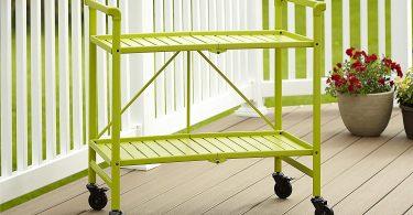 Cosco Outdoor Living Indoor/Outdoor Folding Serving Cart