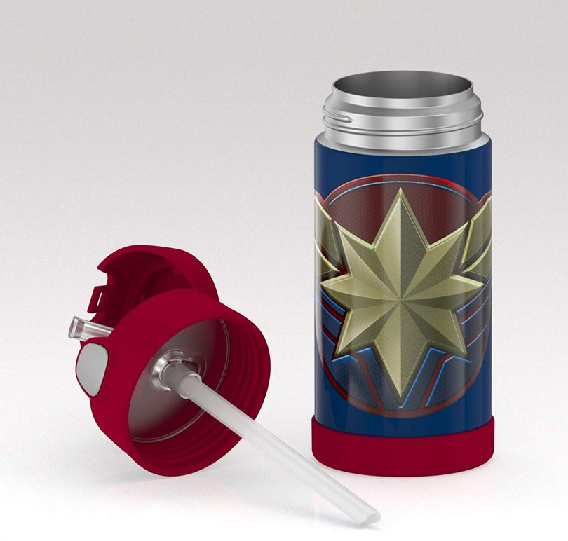 Thermos F4019CP6 Captain Marvel 12oz bottle