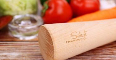 Soligt 12″ Sauerkraut Pounder for Mason Jars Vegetable Fermentation