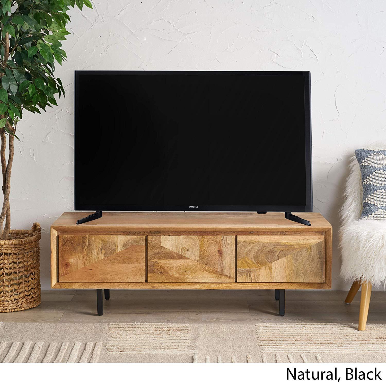 Christopher Knight Home Karen Mango Wood TV Stand