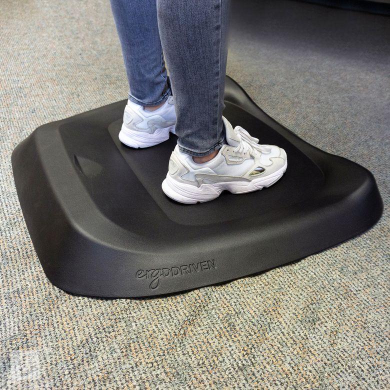 CUBEFIT Terramat | Anti Fatigue Mat and Standing Desk Mat with Built-in Massage Mounds