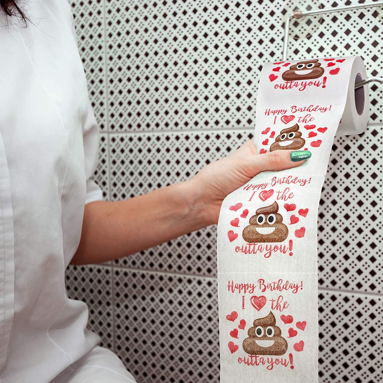 Maad Romantic Novelty Toilet Paper