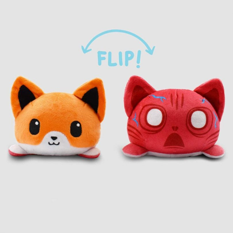 TeeTurtle | Reversible | Cute Mini Plushies | Scaredy Fox