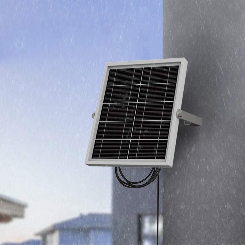 Soliom Solar Panel Power Supply for Outdoor Home Security