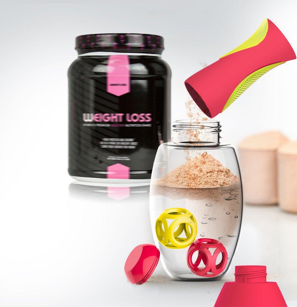 Asobu Samba Shaker Protein/Sport Hydration Powder Bottle