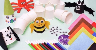 Asian Hobby Crafts Paper Cup Craft Kit