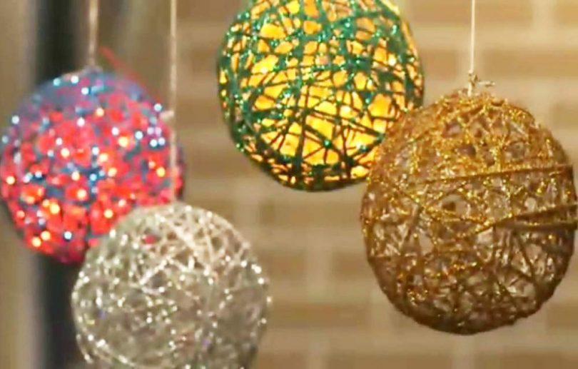 Asian Hobby Crafts DIY Balloon Yarn Orb Making Kit