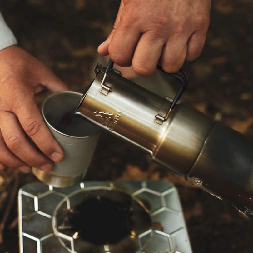 nCamp Portable Camping Coffee Maker