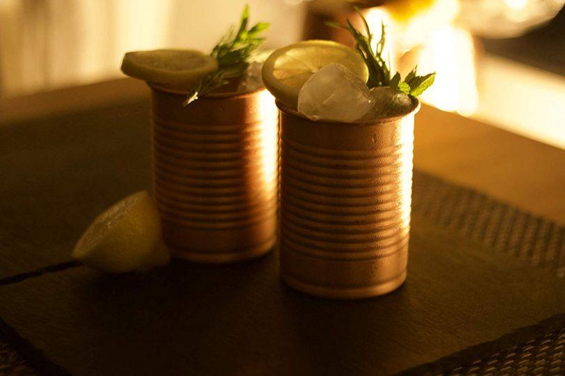 Kosdeg Copper Cocktail Tins Set