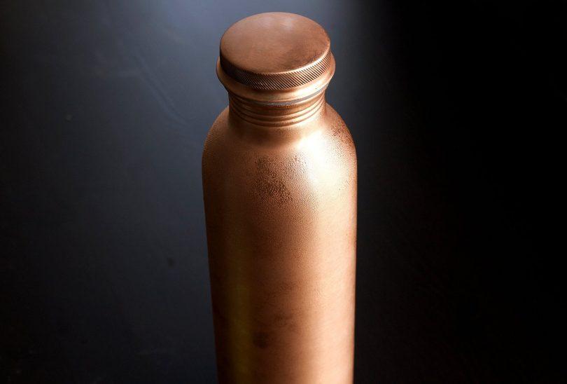 Kosdeg Copper Water Bottle 2Pack 34 Oz Extra Large