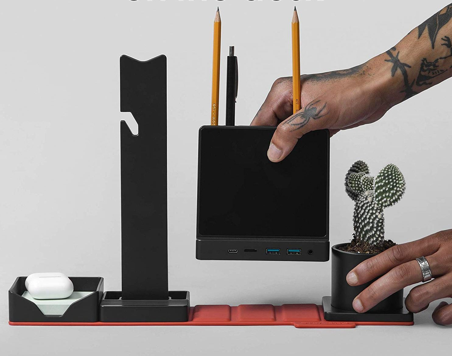 Combo Office HUB STEALTHO Desk Organizer