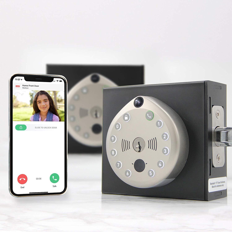 Smart Lock by Gate Labs: WiFi All-in-One Doorbell & Deadbolt