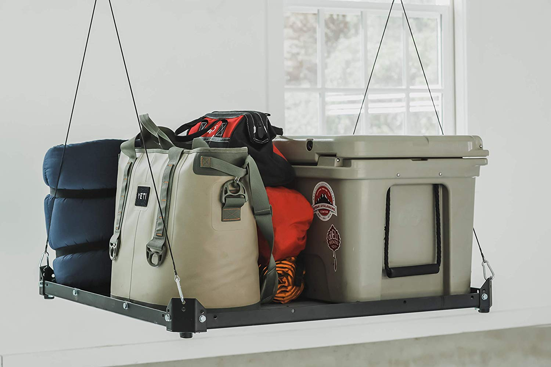 Platform Lifter, 3'x3′ Motorized Overhead Garage Storage