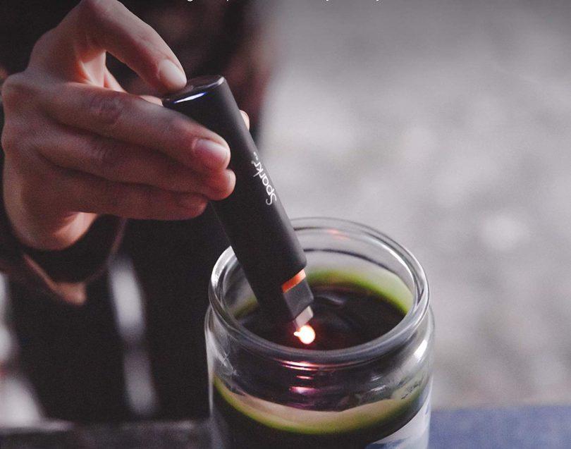 Power Practical Sparkr Flip Electric Lighter