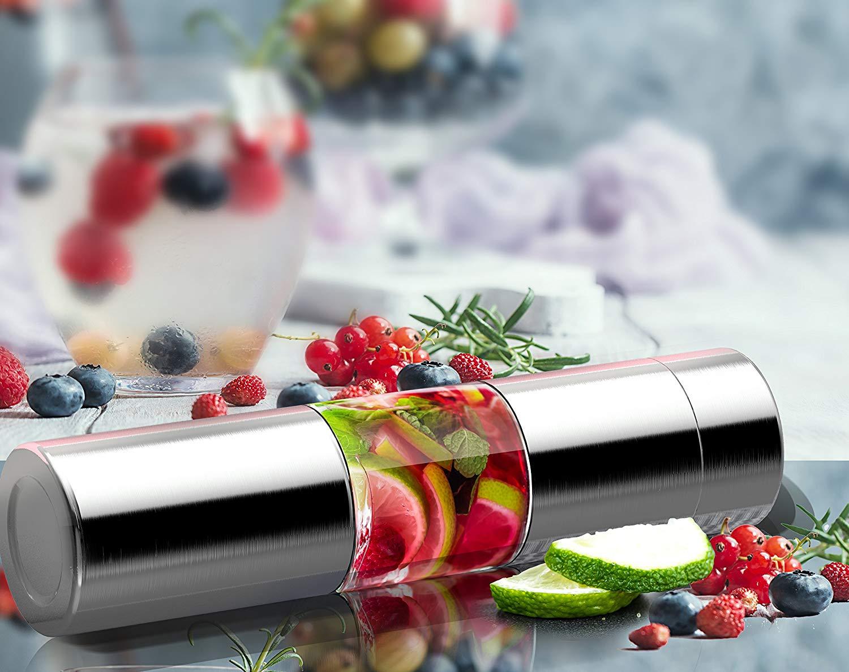 asobu Flavor U See a Stainless Steel Fruit Infuser