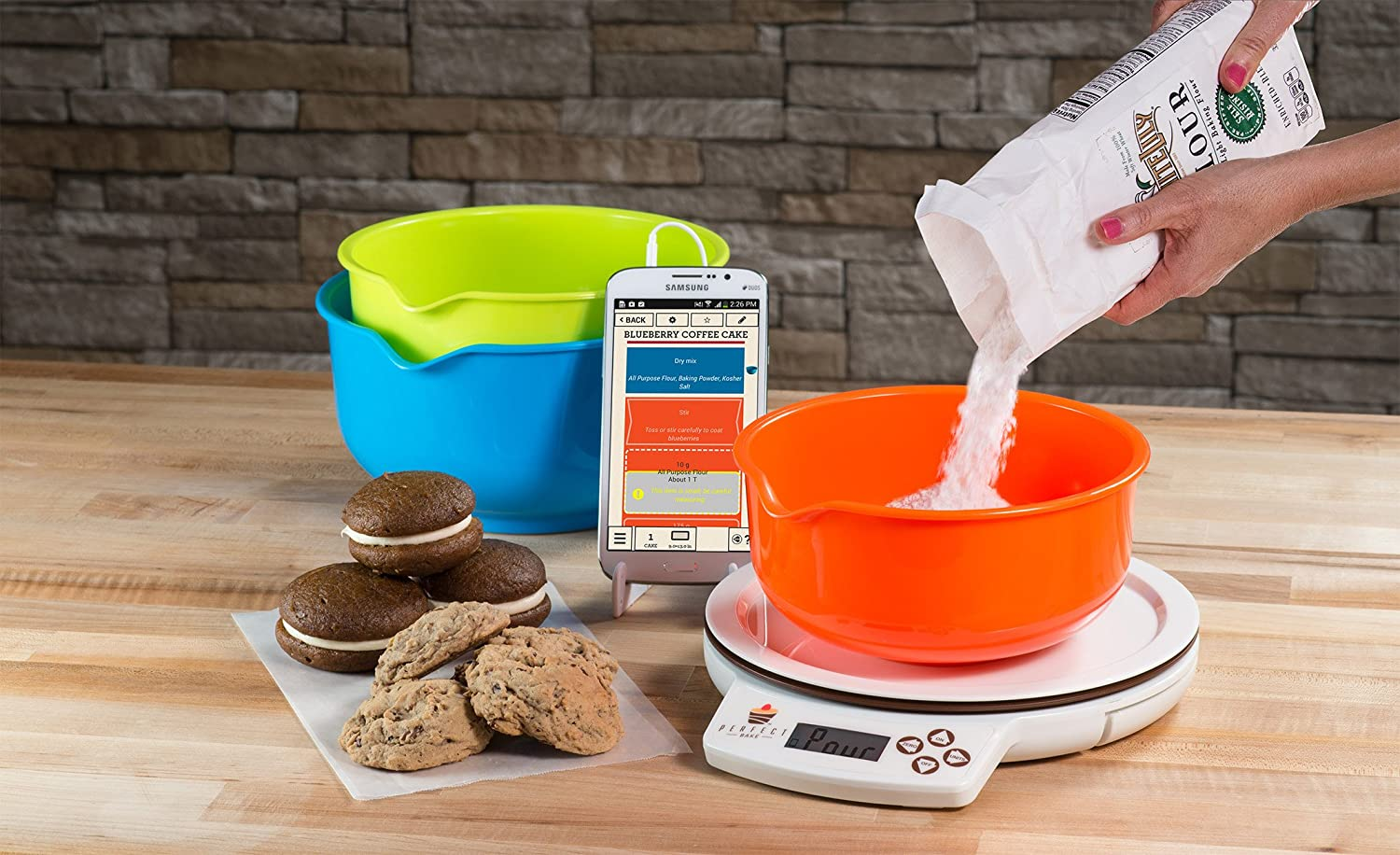 Perfect Bake 1.0 Smart Scale and Recipe App Kitchen Tool