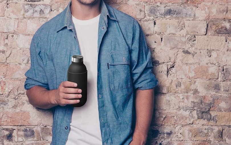 Asobu Orb Stainless Steel Double Wall Insulated Travel Water Bottle