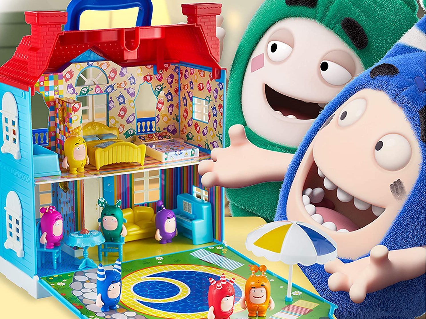 ODDBODS Playset with House for Kids