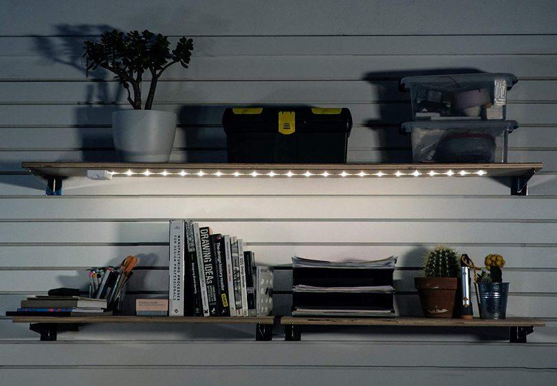 Luminoodle Click AA Battery Powered LED Push Lights