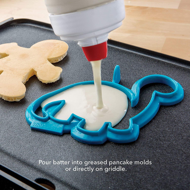 Whiskware Pancake Art Kit with Batter Mixer