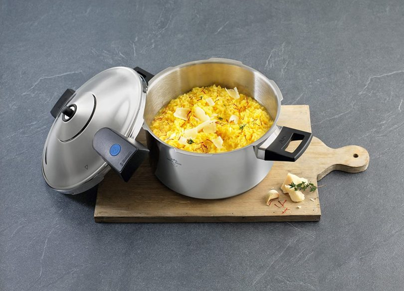 Duromatic Pressure Cooker with Bluetooth Capabilities
