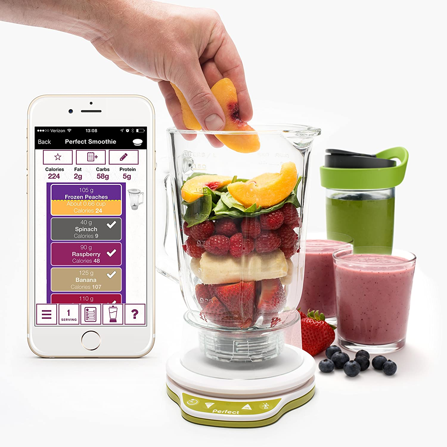 Perfect Blend 2.0 Smart Scale + App