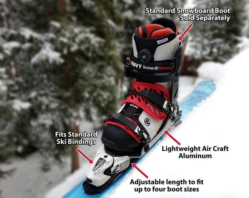 Envy Ski Boot Frame – Comfortable Ski Boots
