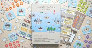 Cool Mini or Not Airship City Board Game