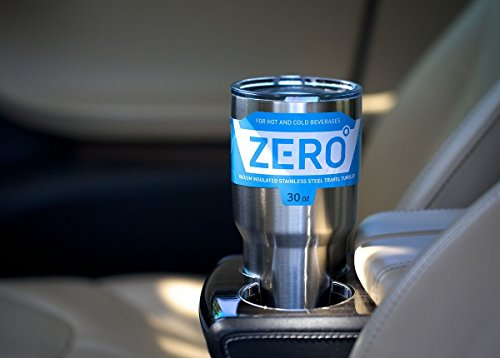 Zero Degree Stainless Steel Tumbler with Lid