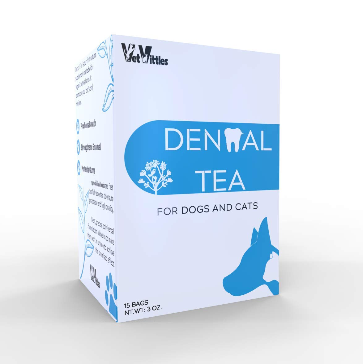 VetVittles Dental Tea for Dogs and Cats