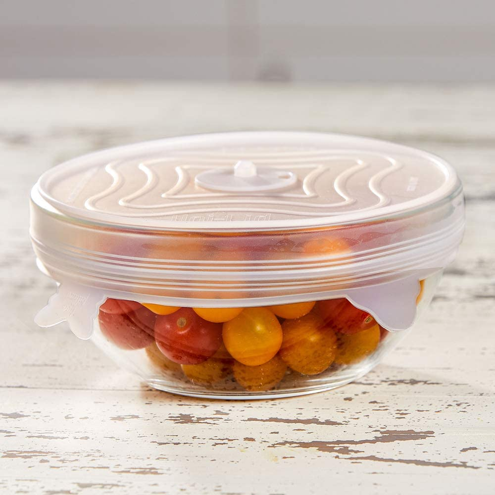 UniLid Silicone Stretch Lids by Copper Chef Expandable