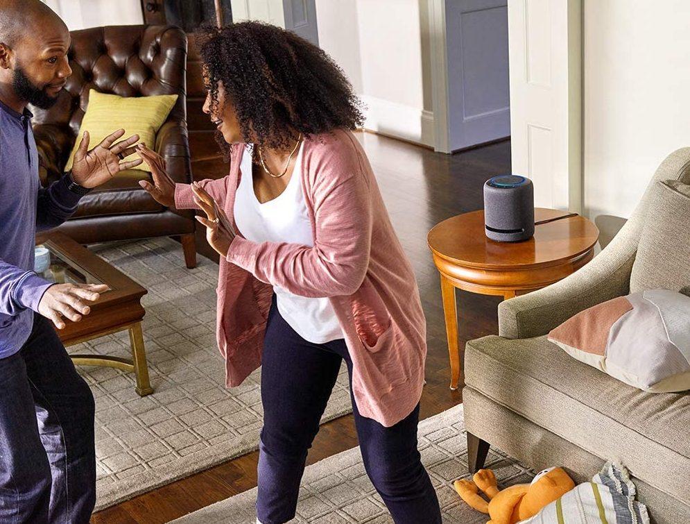 Echo Studio – High-fidelity smart speaker with 3D