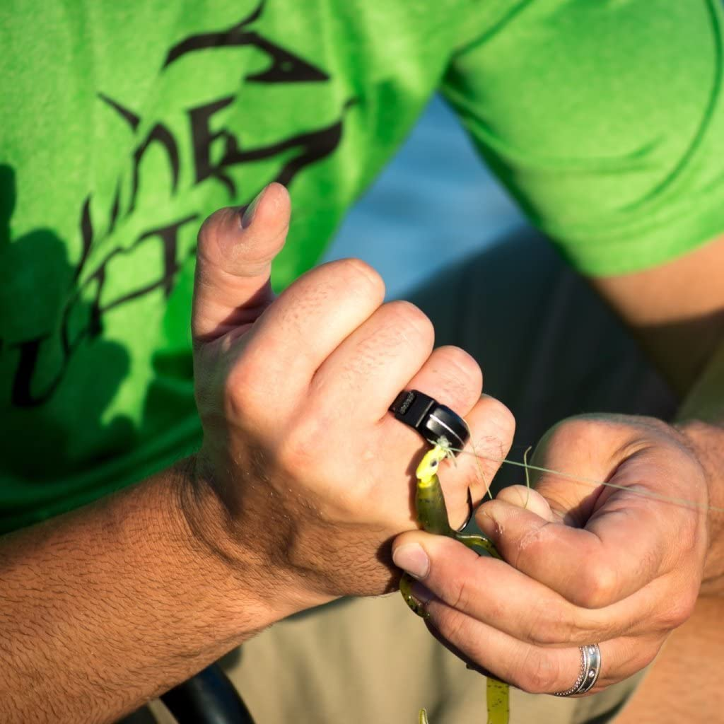 Line Cutterz Ring – Green Carbon Fiber Edition