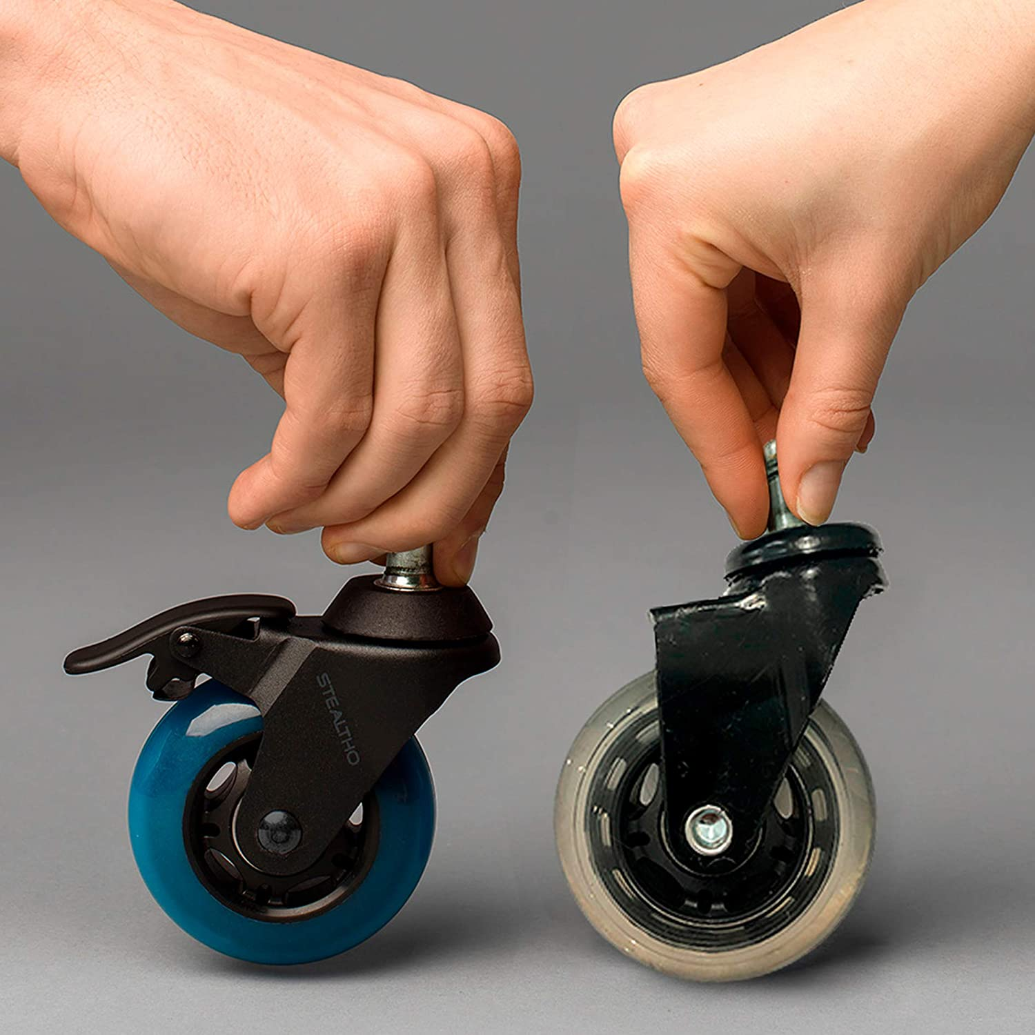 STEALTHO Replacement Office Chair Caster Wheels