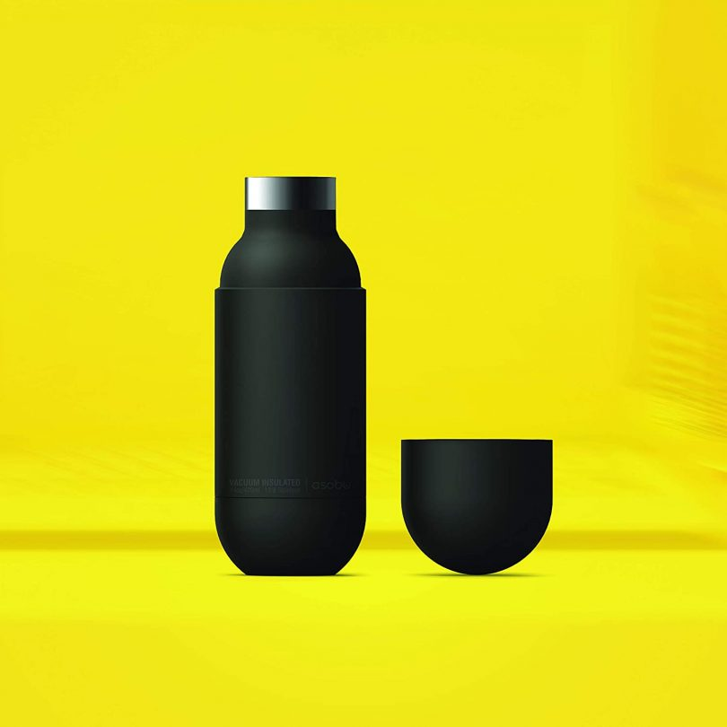 Asobu Capsule Bottle Stainless Steel Double Wall Insulated Travel Water Bottle