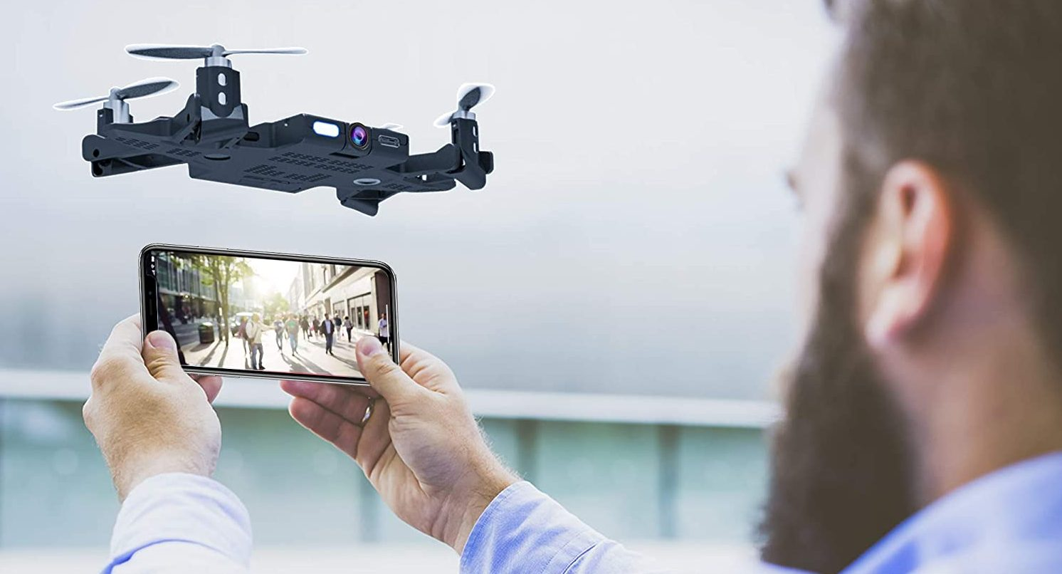 SELFLY Pocket Dock Case Drone