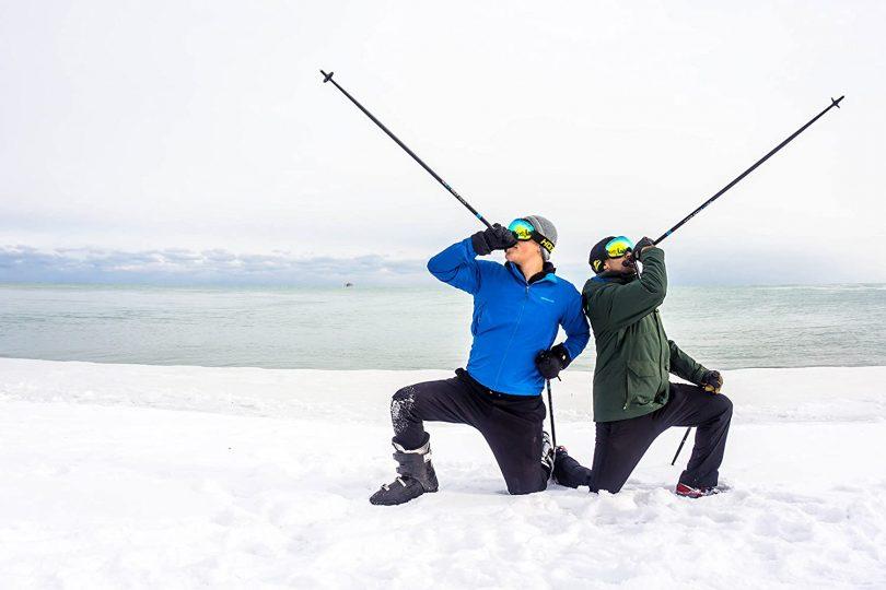 WhiSki Poles are high Performance SKI Pole FLASKS