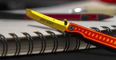 StatGear x Unbox Therapy Pocket Samurai Micro Knife
