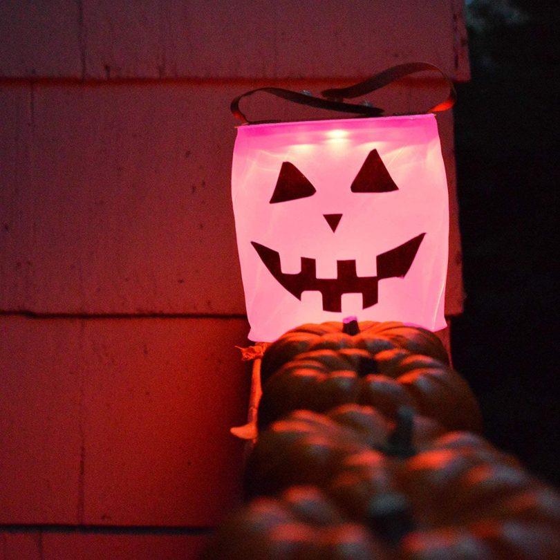 LuminAID Halloween Solar Jack-o-Lantern