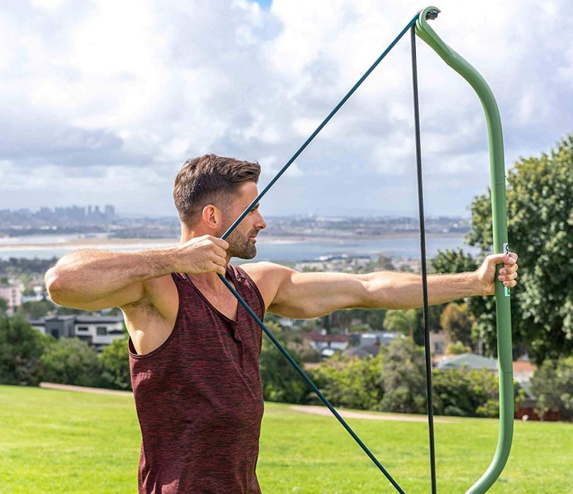 Gorilla Bow Portable Home Gym Resistance Bands and Bar