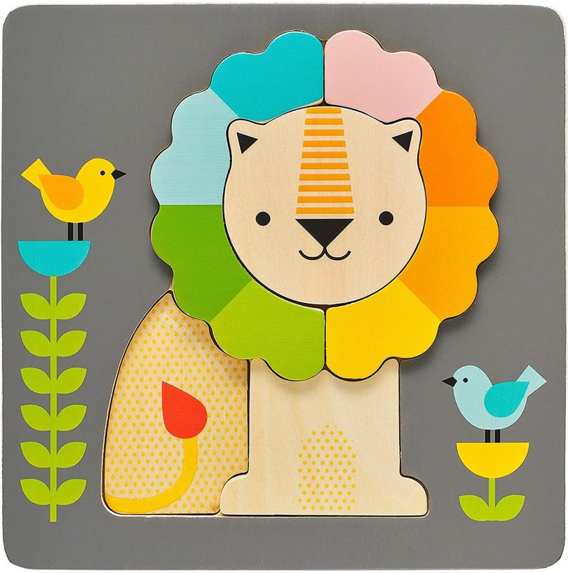 Petit Collage Chunky Wooden Tray Puzzle