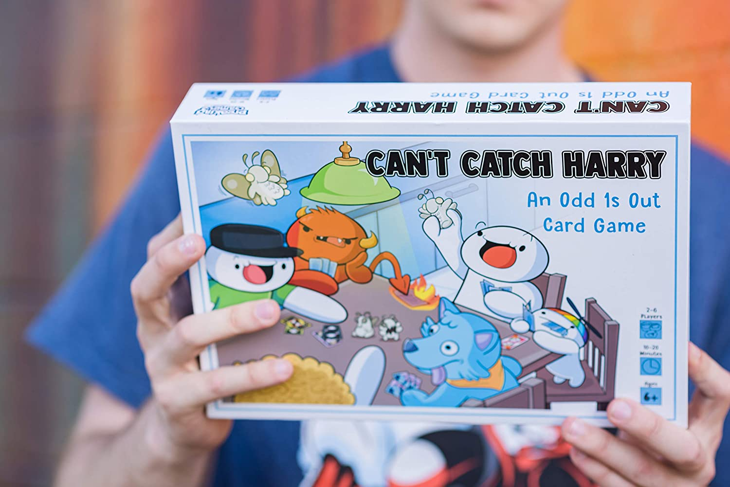 TheOdd1sOut Can't Catch Harry Board Game