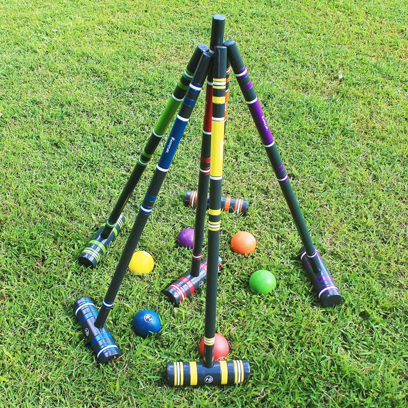 Harvil 6-Player Croquet Set